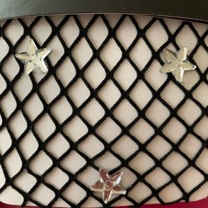 NWT STEVE MADDEN fishnet tights w/sparkly ✨ stars